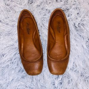 🍀 Lucky Brand Leather Flats